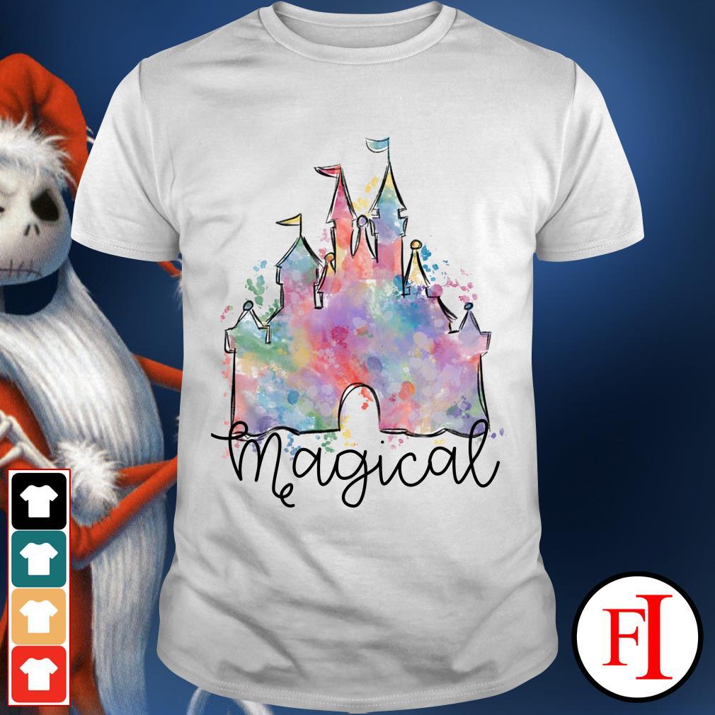 Beautyful Disney castle magical shirt