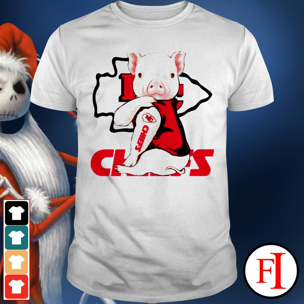 Chiefs Tattoos Pig Kansas City IF shirt