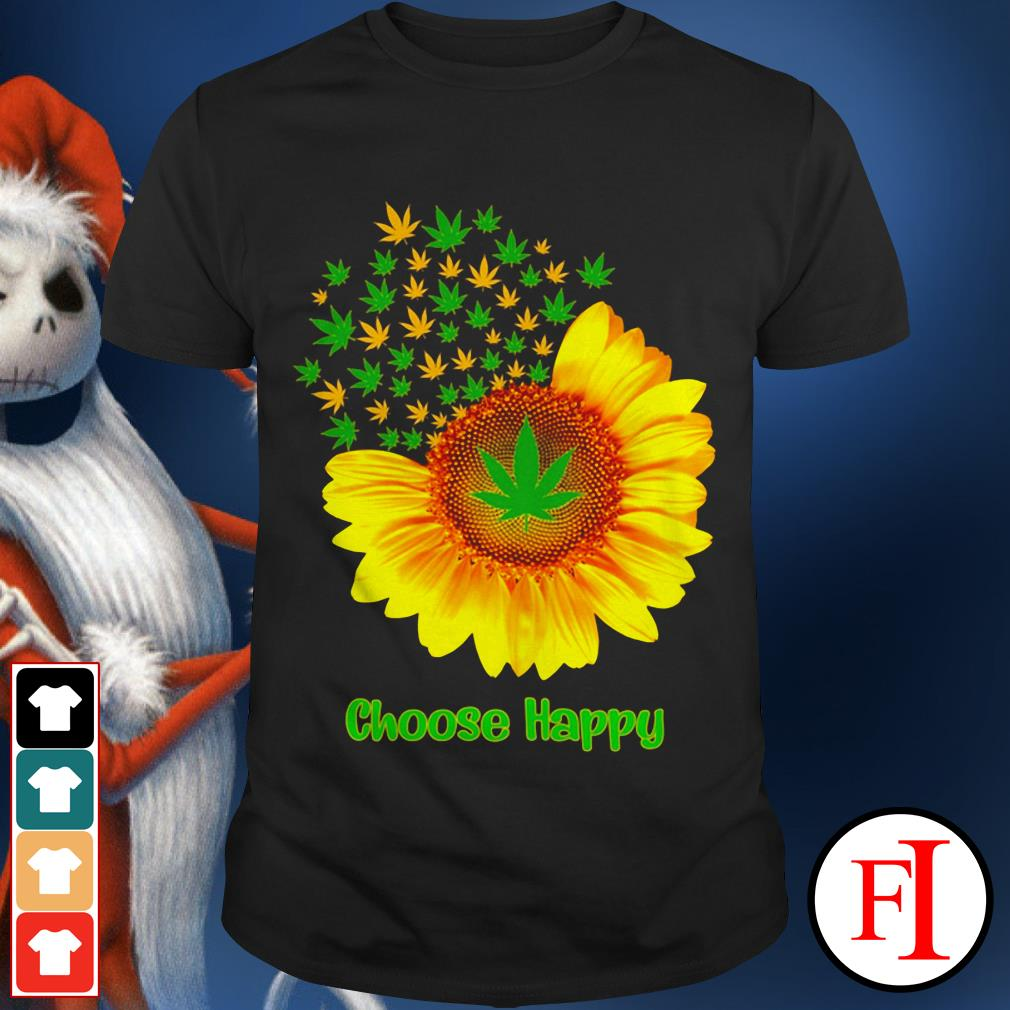 Choose happy with Sunflower shirt