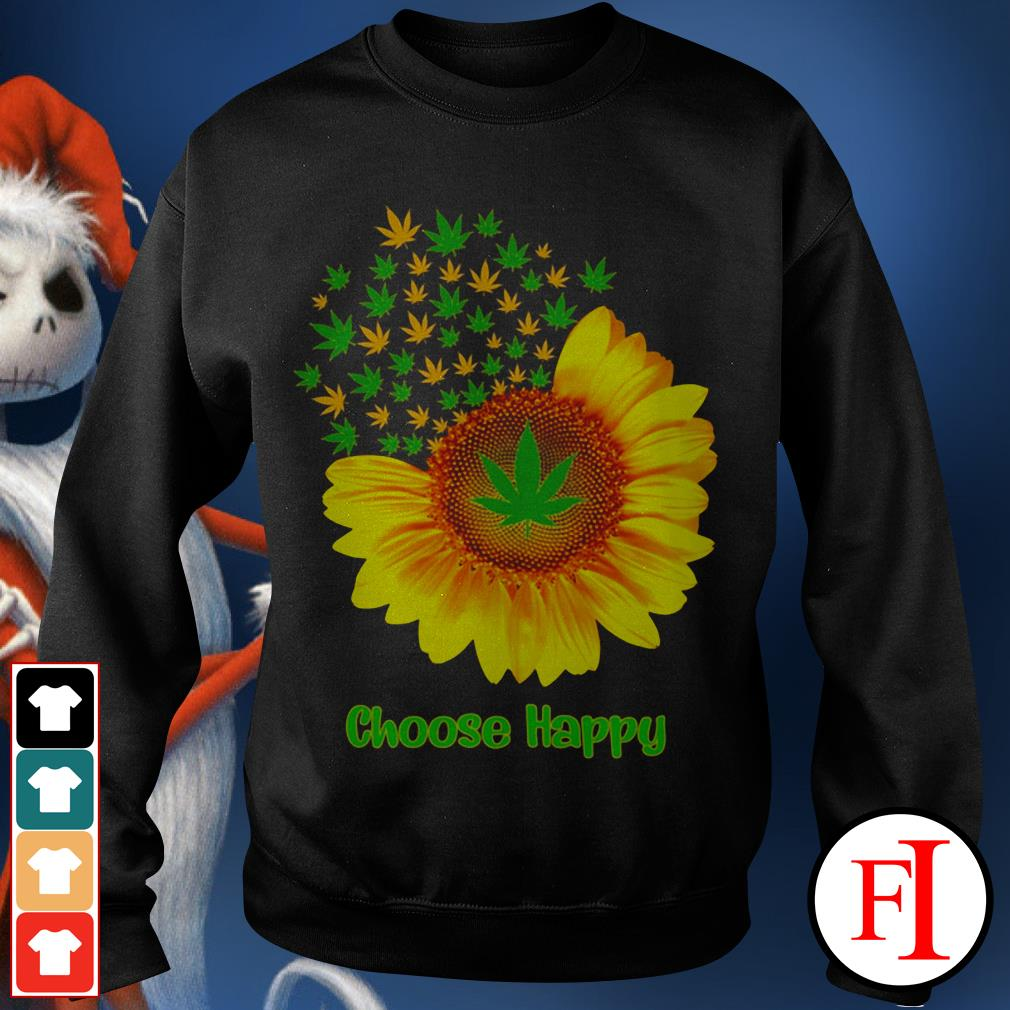 Choose happy with Sunflower Sweater