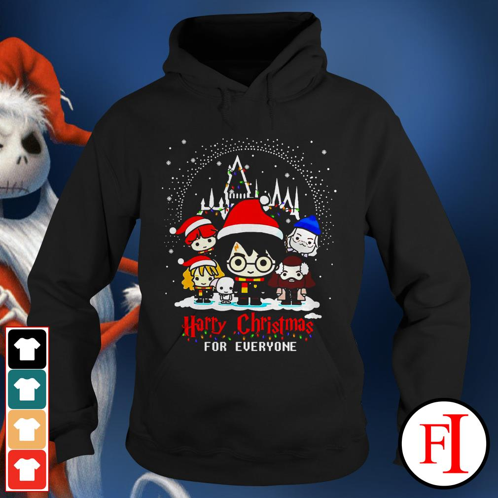 Christmas Harry Potter character chibi Harry Christmas for everyone IF Hoodie