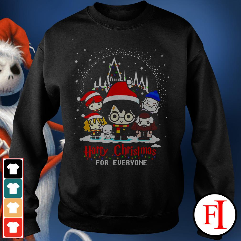 Christmas Harry Potter character chibi Harry Christmas for everyone IF Sweater