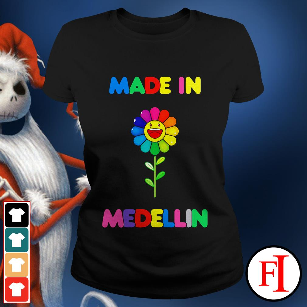 Colour lovely LGBT made in Medellin Ladies tee