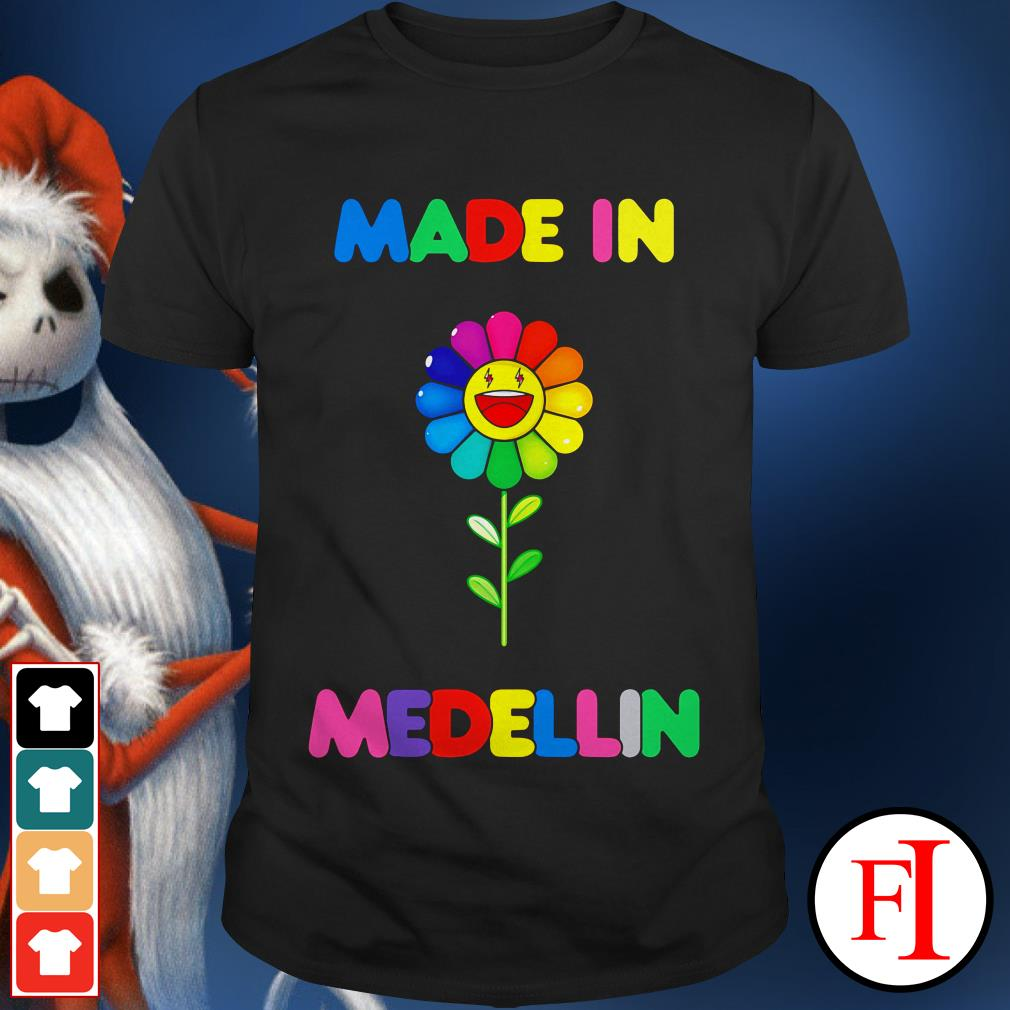Colour lovely LGBT made in Medellin shirt