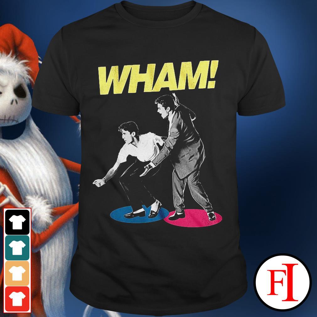 George Michael Wham and Andrew Ridgeley shirt