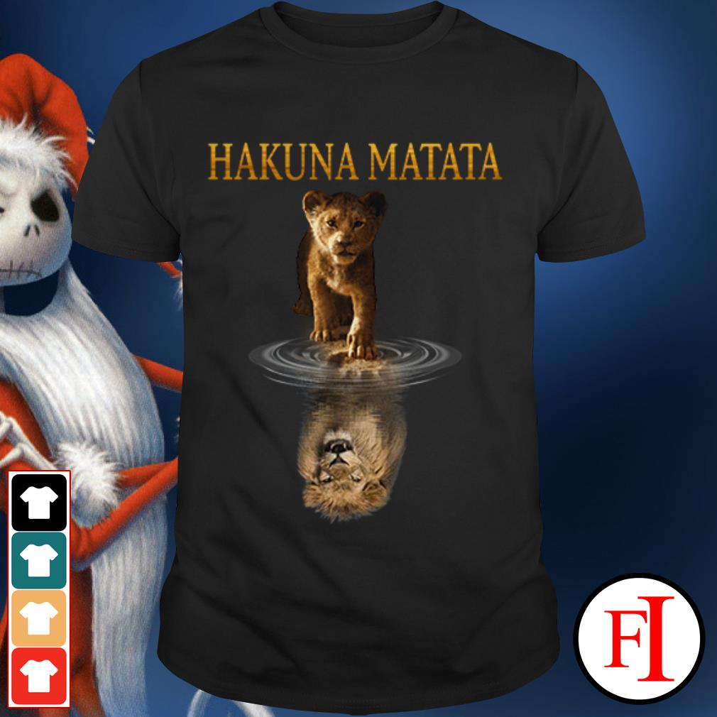 Hakuna Matata Lion King IF shirt