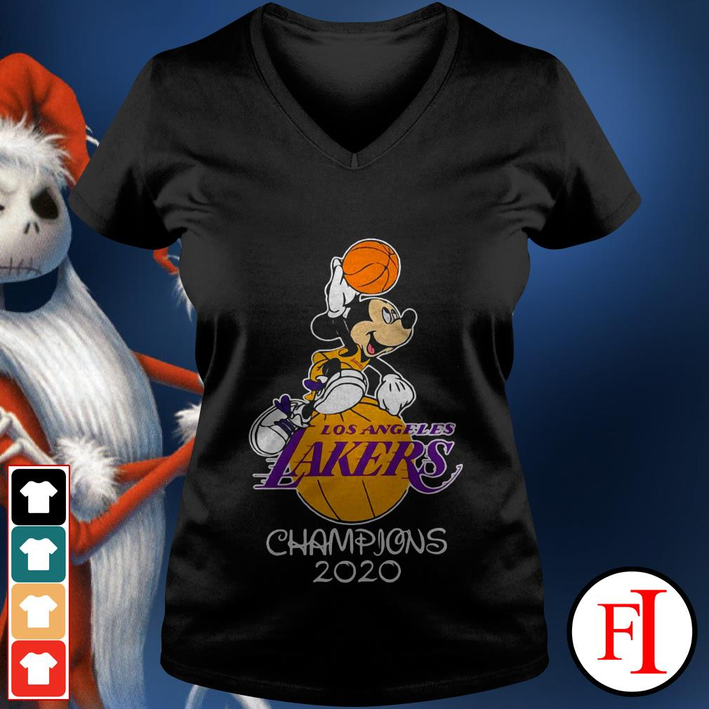 Los Angeles Lakers champions 2020 Mickey mouse love IF ...
