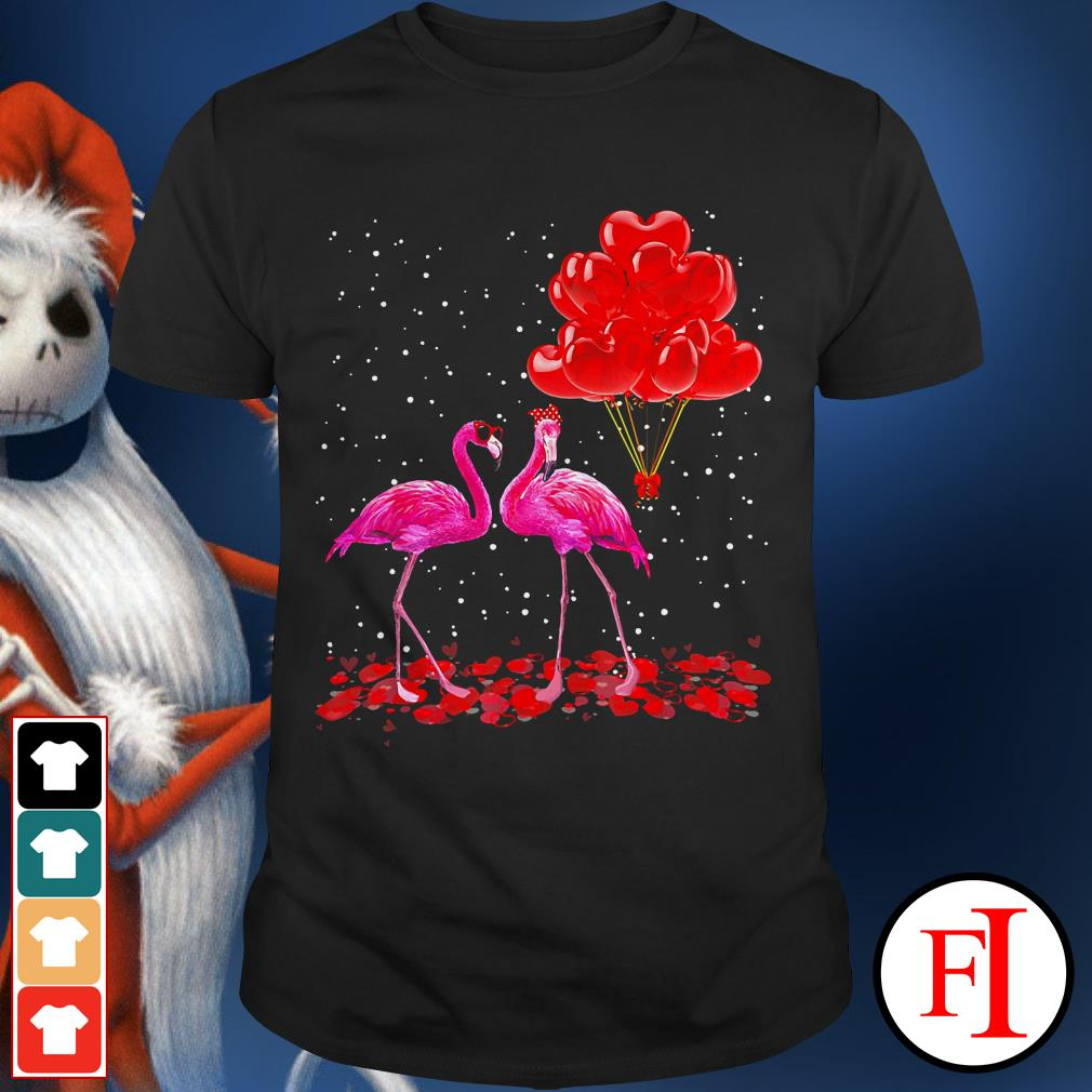 Lovely Flamingo Valentine's day IF shirt