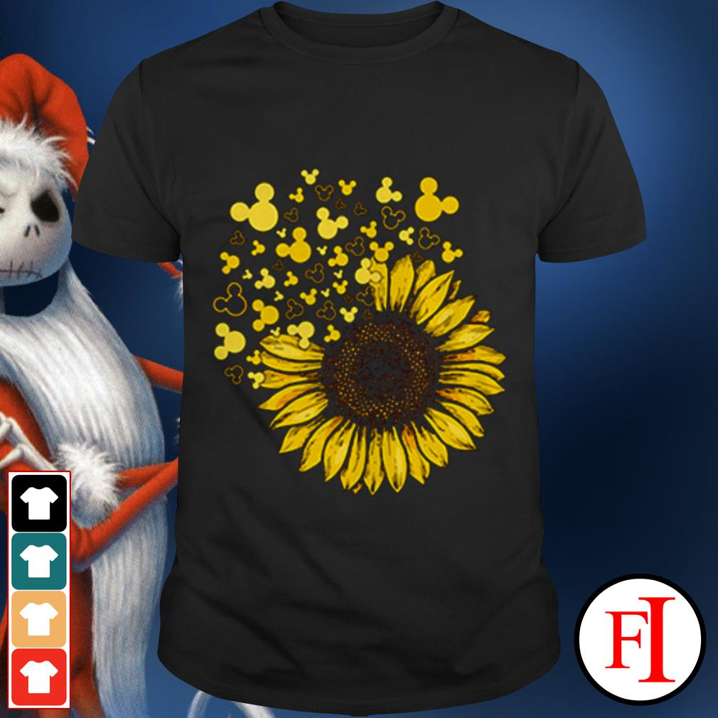 Mickey Mouse Ears Sunflower IF shirt
