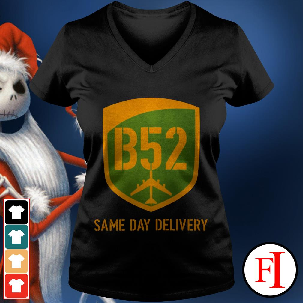 Official B52 same day delivery IF v-neck t-shirt
