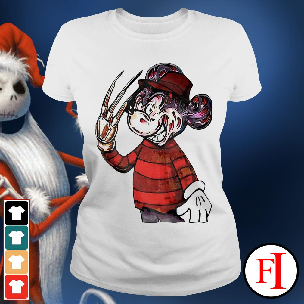 Official Horror Mickey mouse IF Ladies tee