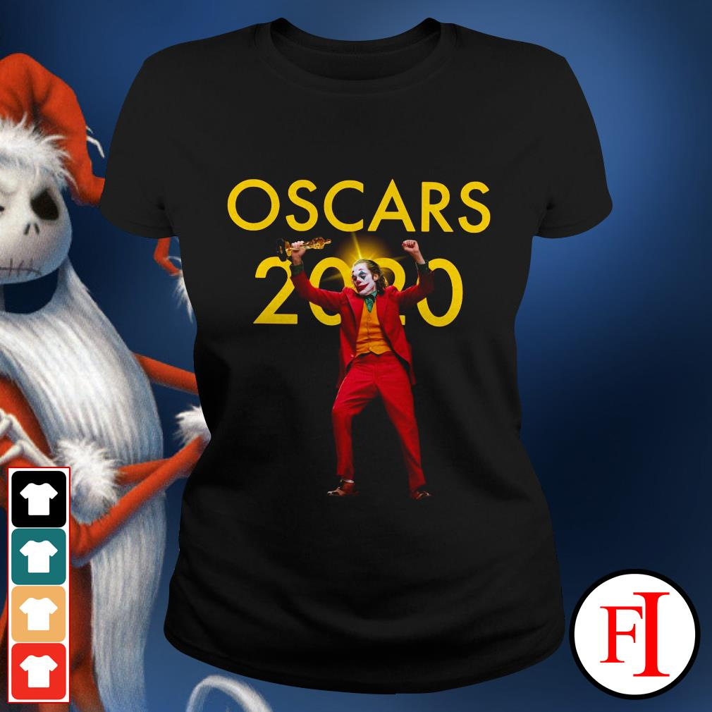 Official Joker Joaquin Phoenix Oscars 2020 Ladies tee