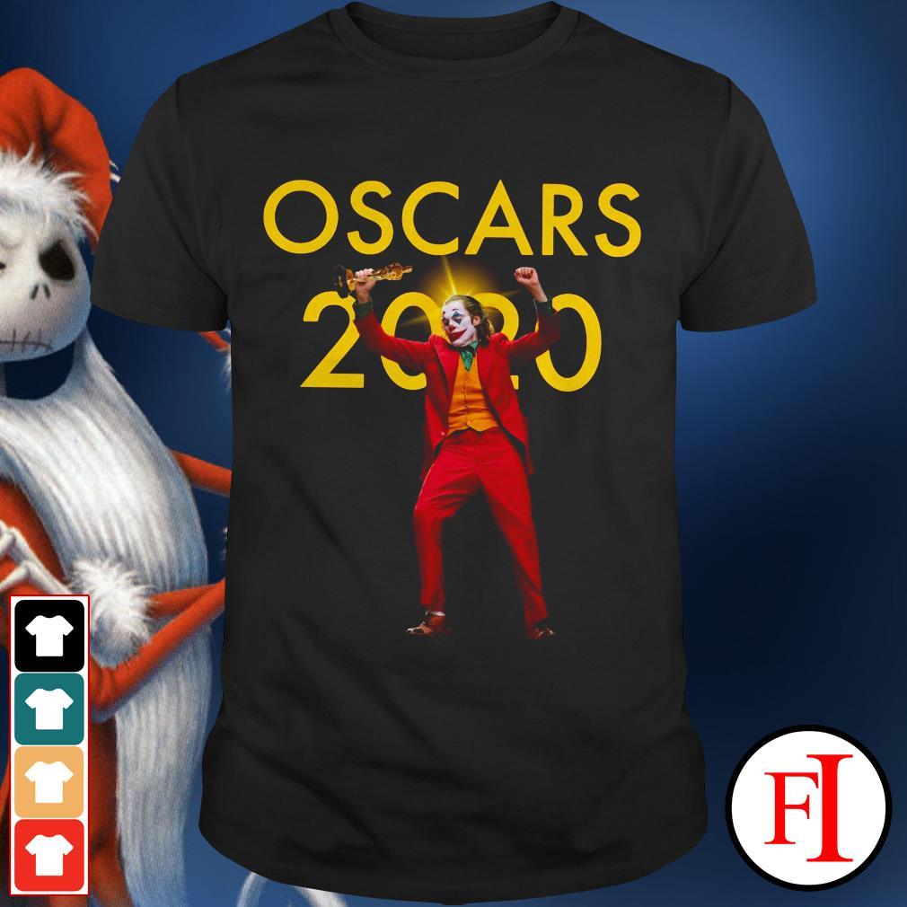Official Joker Joaquin Phoenix Oscars 2020 shirt