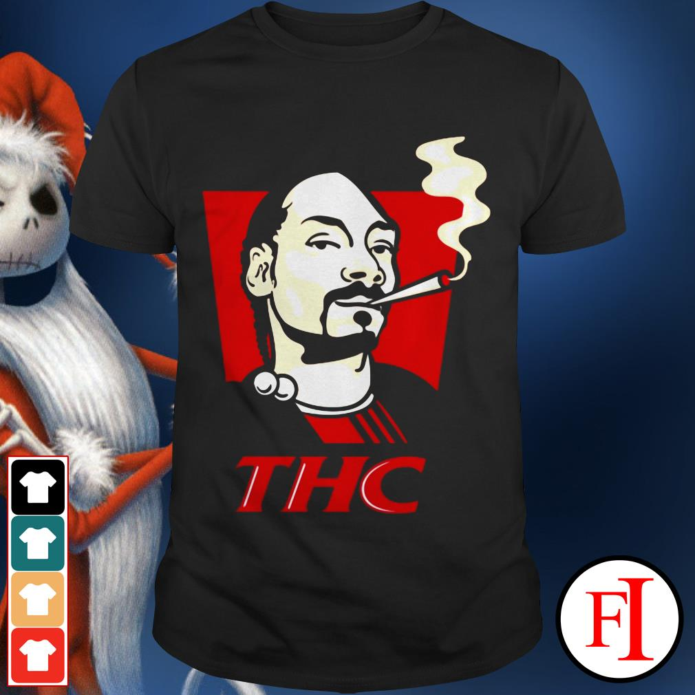 Official Snoop Dog smokes THC IF shirt