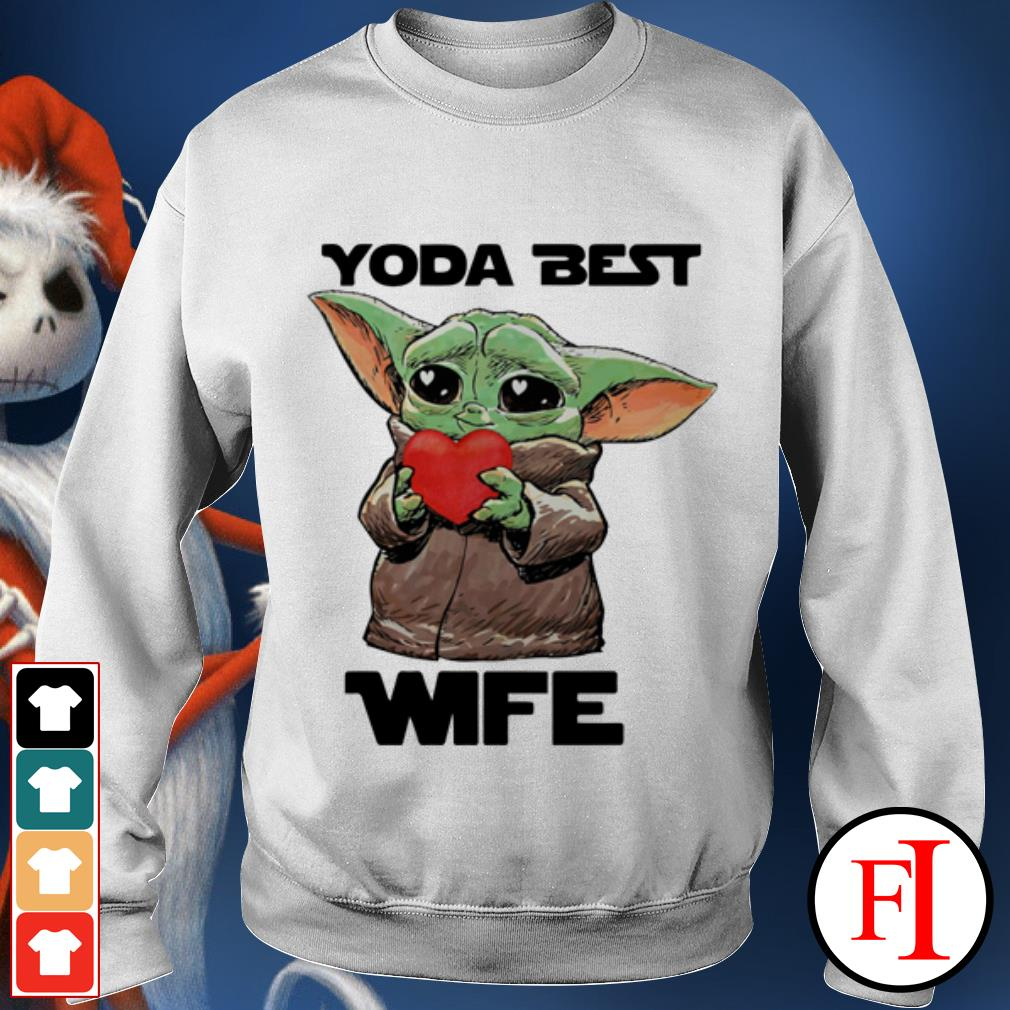 Official Star Wars Baby Yoda best wife Sweater