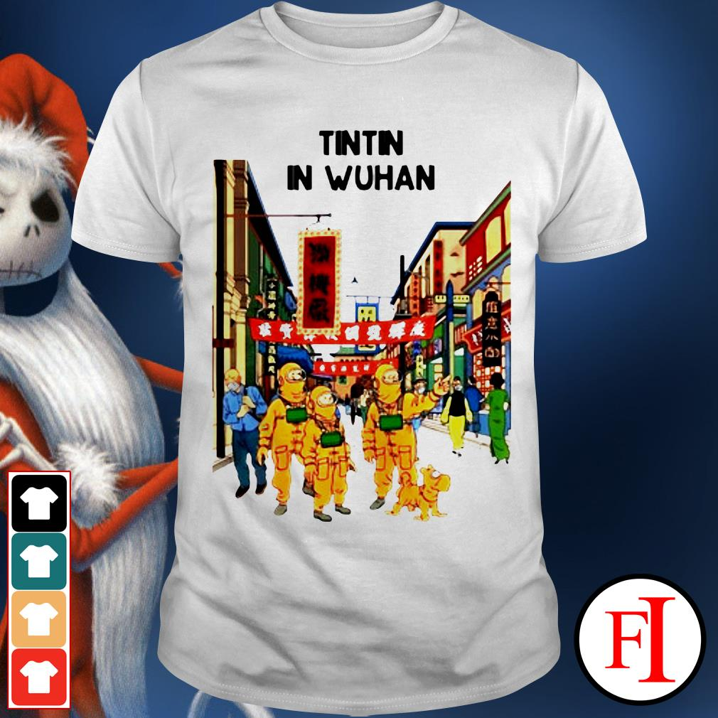 Official Tintin in Wuhan shirt