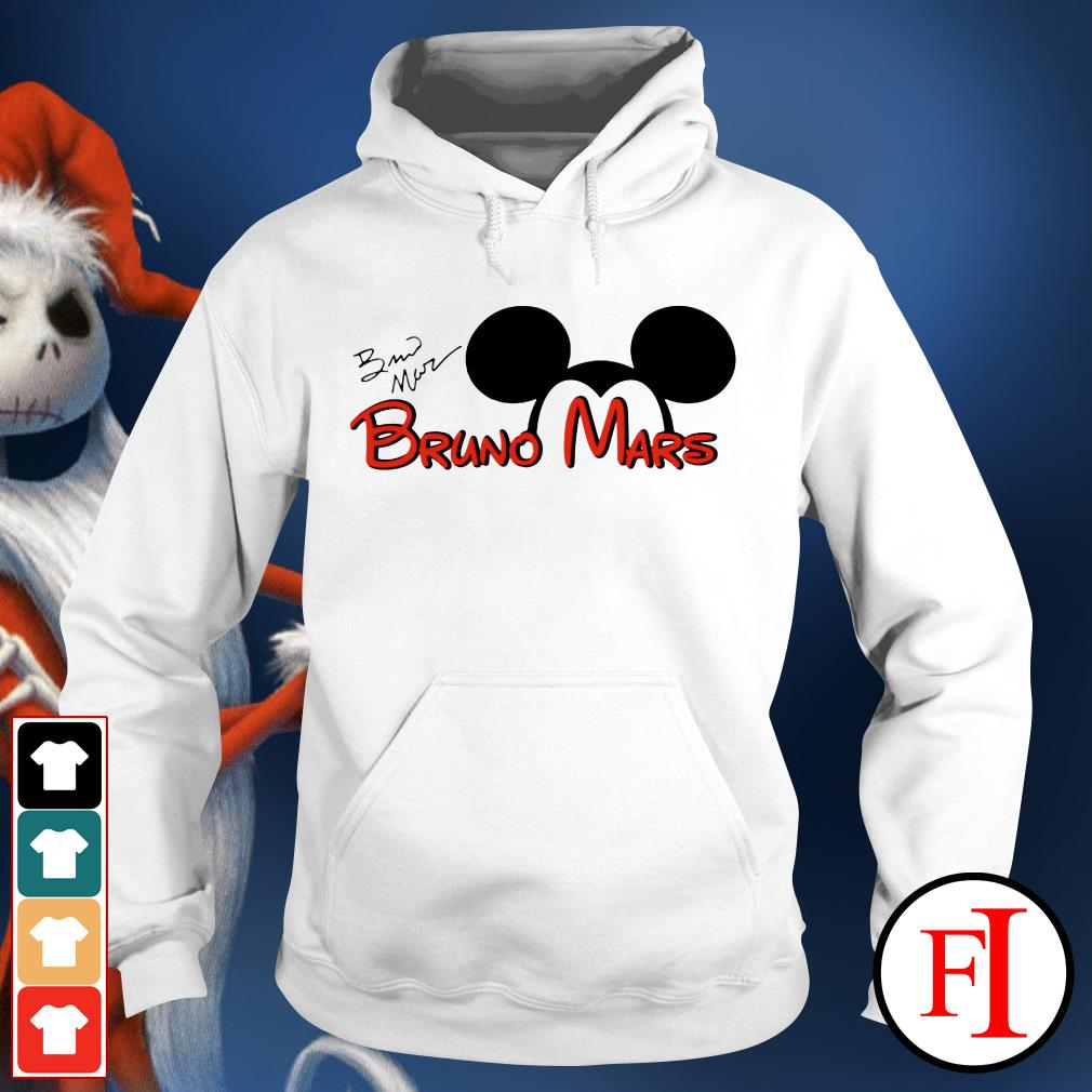 The signature Mickey Mouse Bruno Mars IF Hoodie