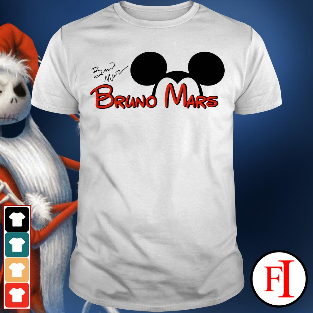 The signature Mickey Mouse Bruno Mars IF shirt
