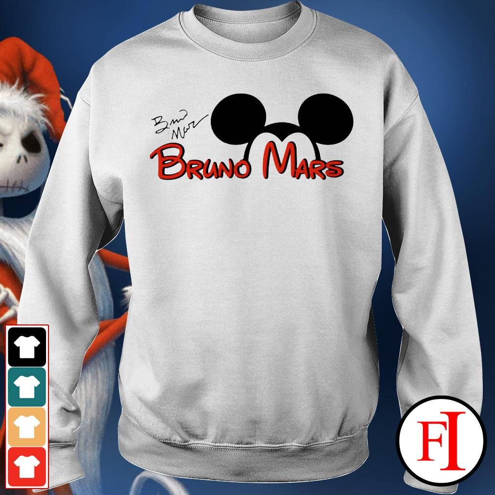 The signature Mickey Mouse Bruno Mars IF Sweater
