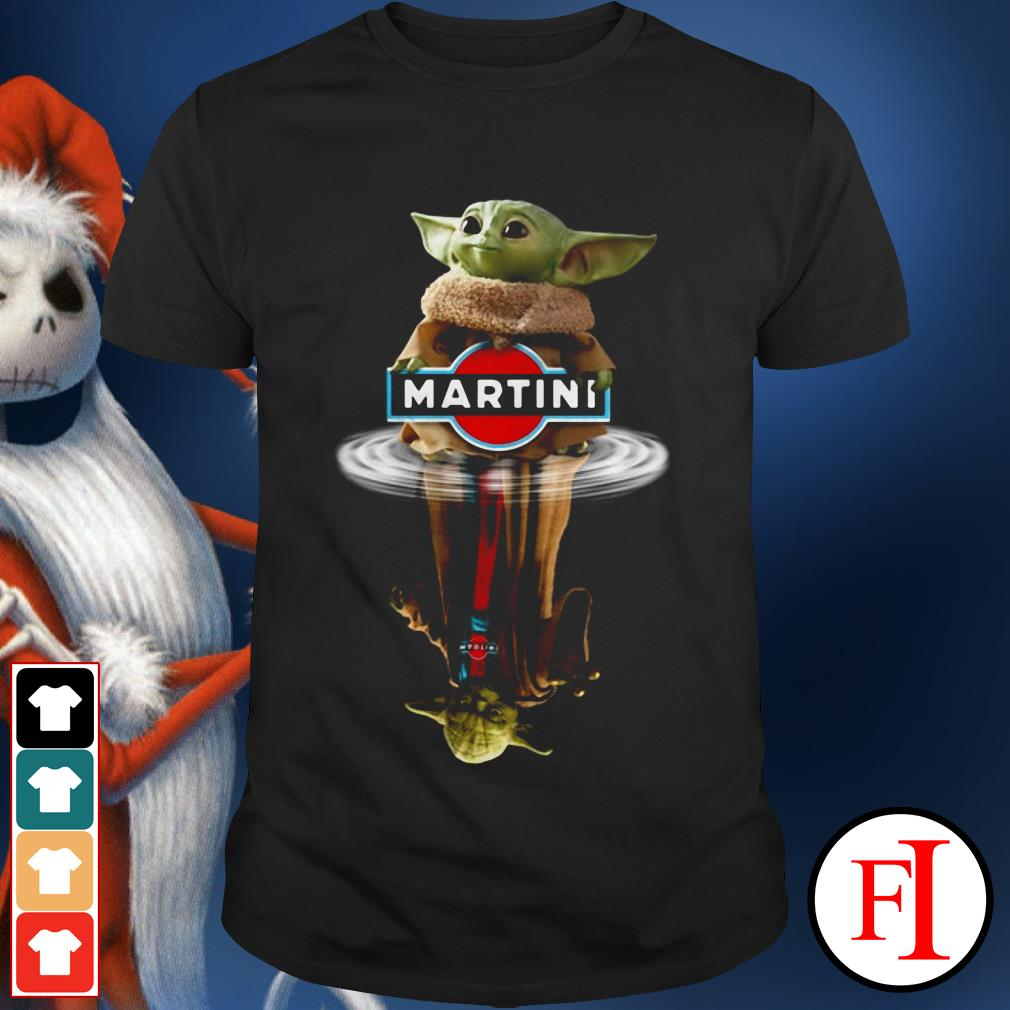 Yoda Martini Star Wars Baby Yoda reflection water shirt