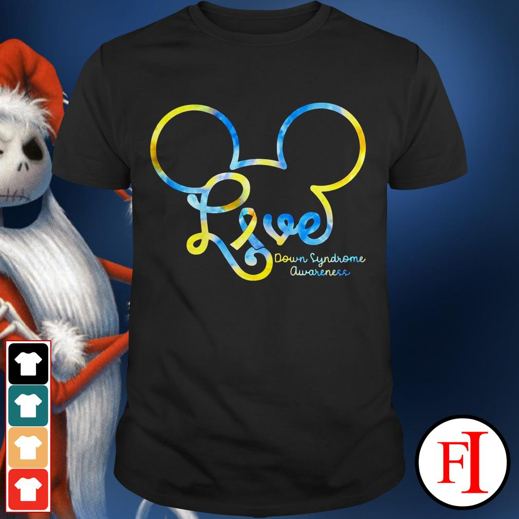 Awareness Mickey love Down Syndrome IF shirt