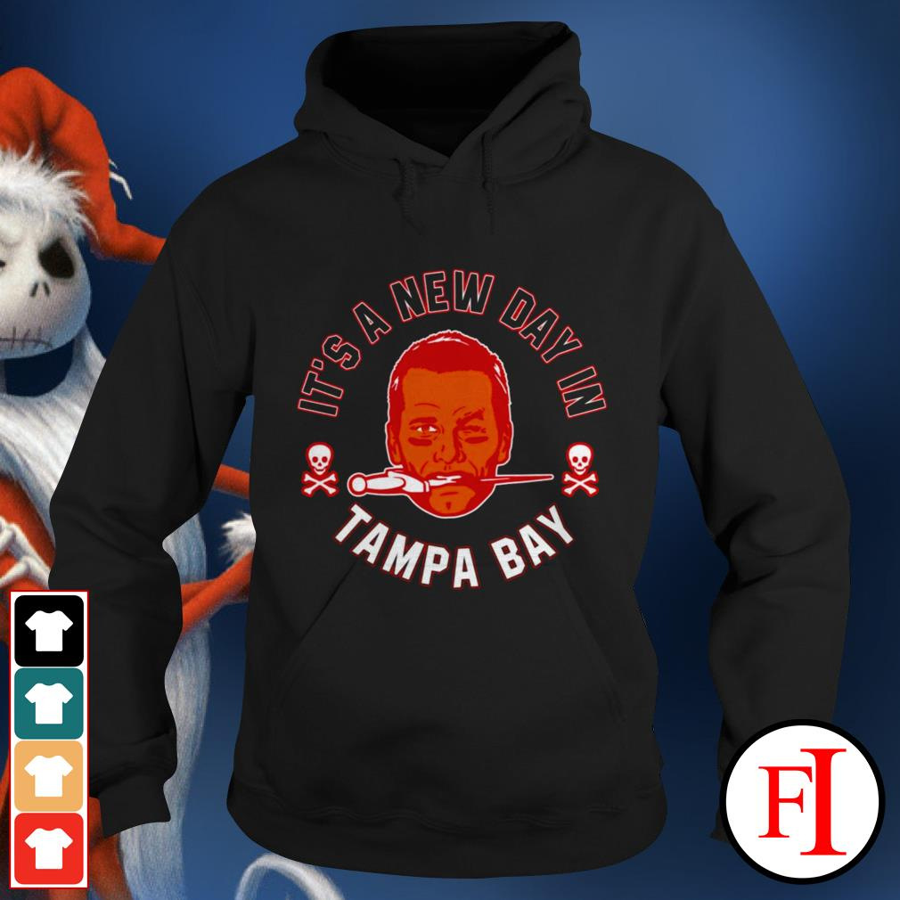 Buccaneers Brady it's a new day Tampa Bay love IF Hoodie