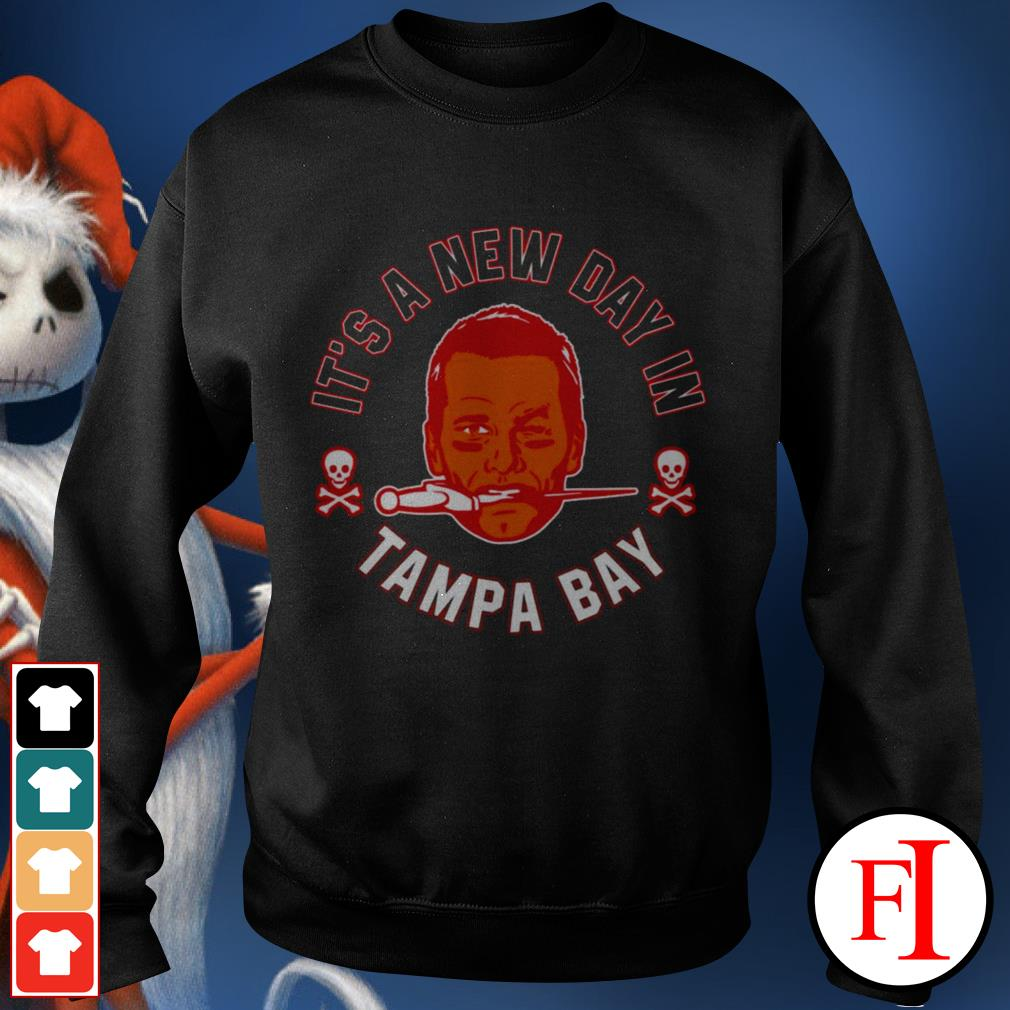 Buccaneers Brady it's a new day Tampa Bay love IF Sweater