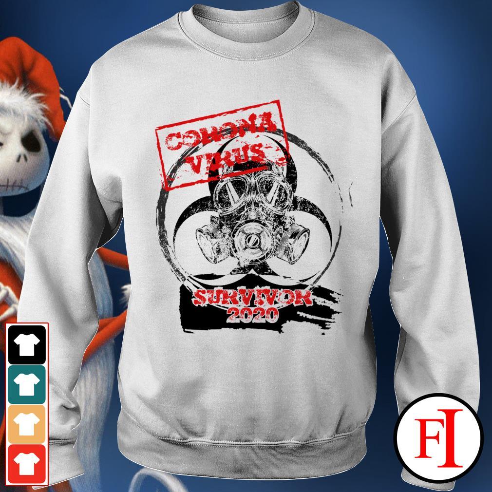 Corona Virus survivor 2020 dangerous IF Sweater