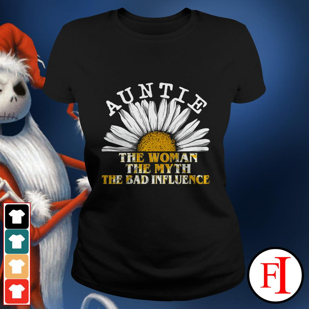 Daisy auntie the woman the myth the bad influence lovely IF Ladies tee