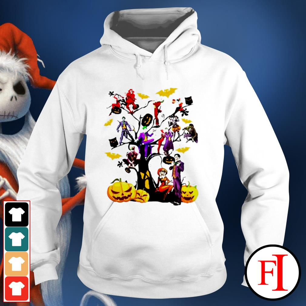 Halloween tree Joker and Harley IF Hoodie