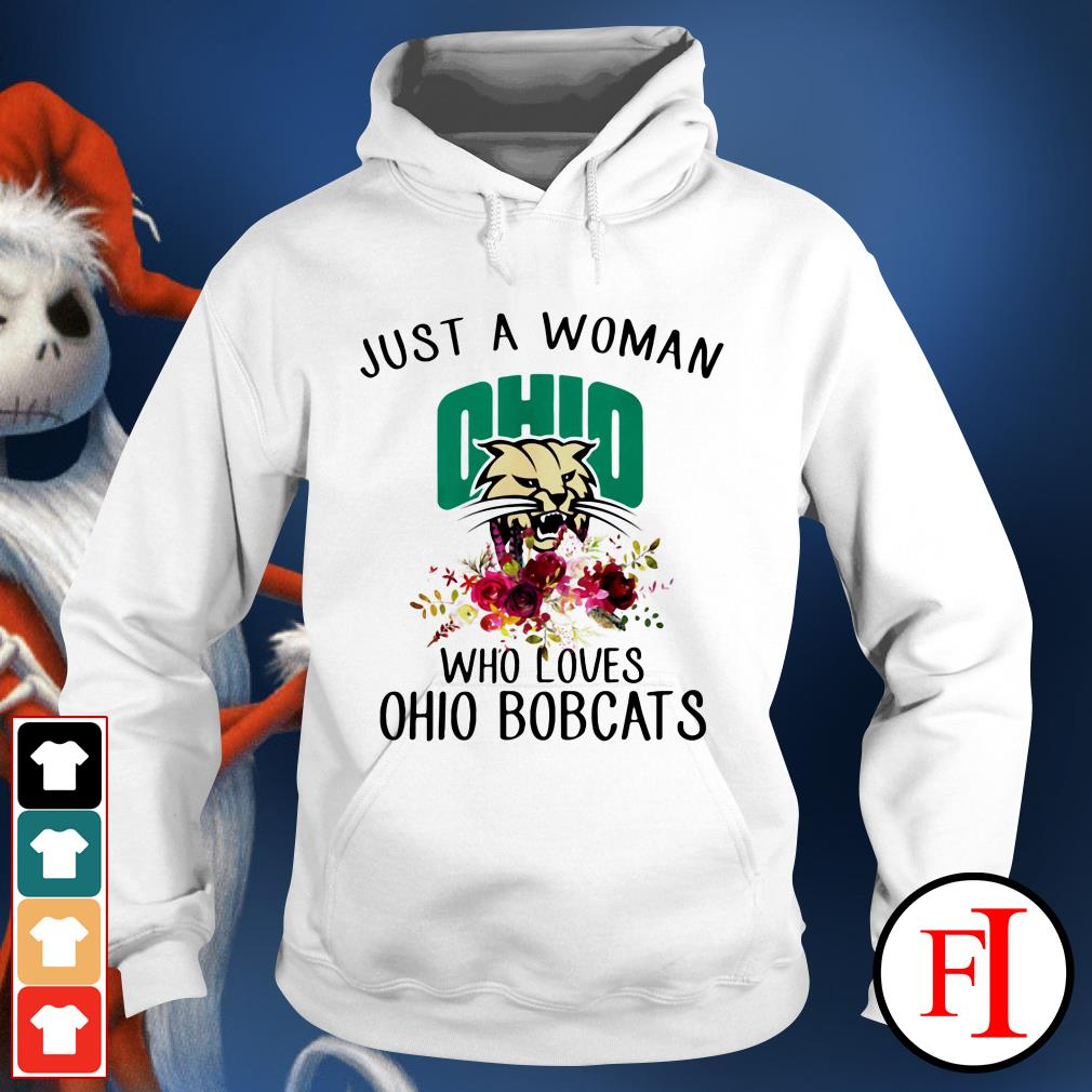 Just a woman OHIO who loves Ohio Bobcats IF Hoodie