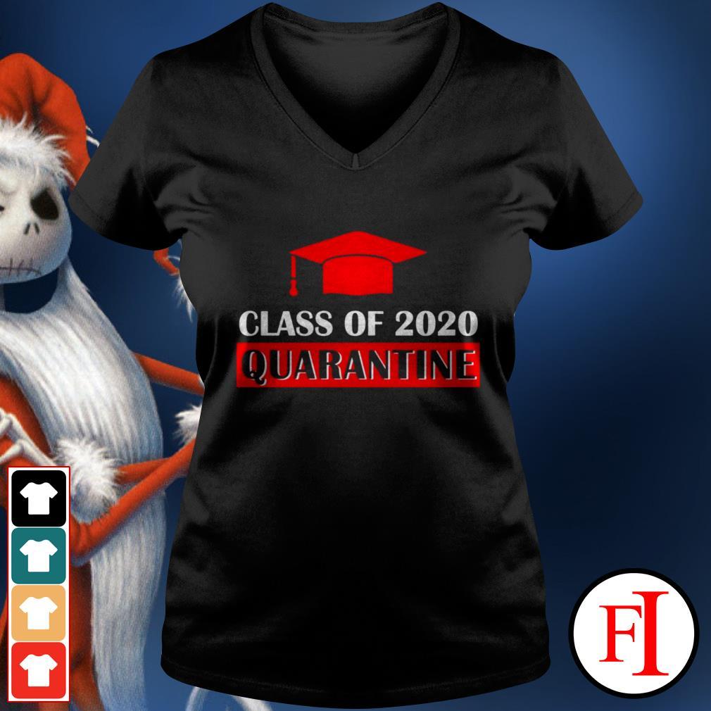 Official Class of 2020 quarantine IF V-neck t-shirt