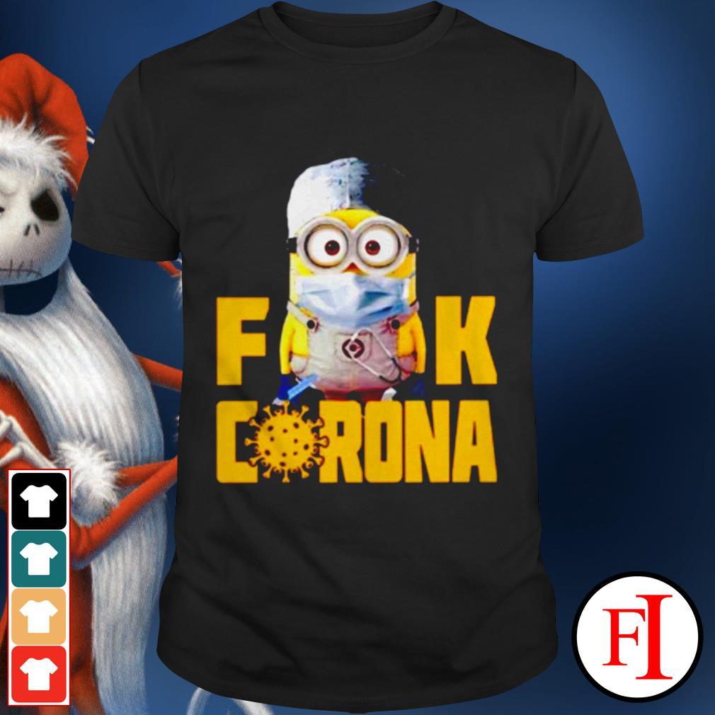 Official Minion Fuck Corona Covid 19 shirt