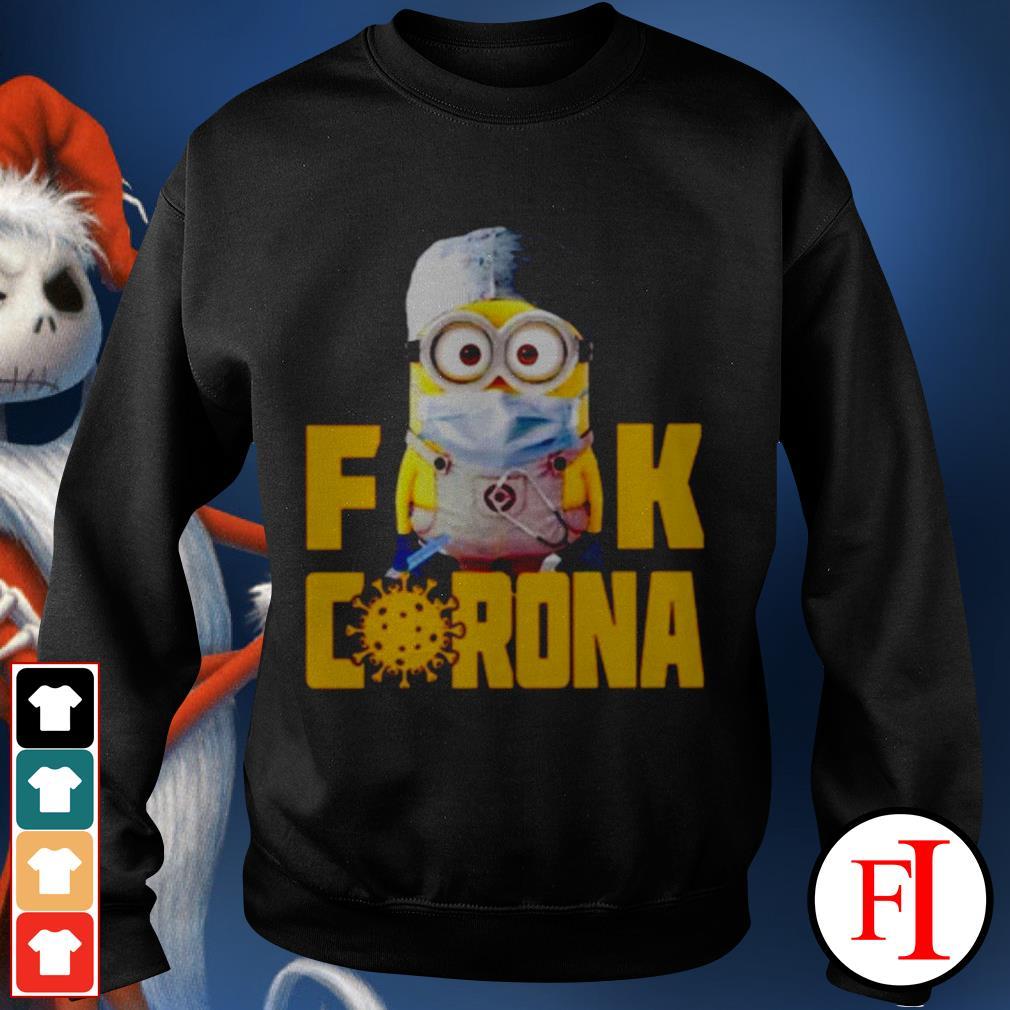 Official Minion Fuck Corona Covid 19 Sweater