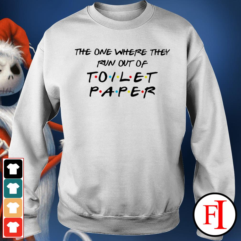 Official The one where they run out of toilet paper IF Sweater