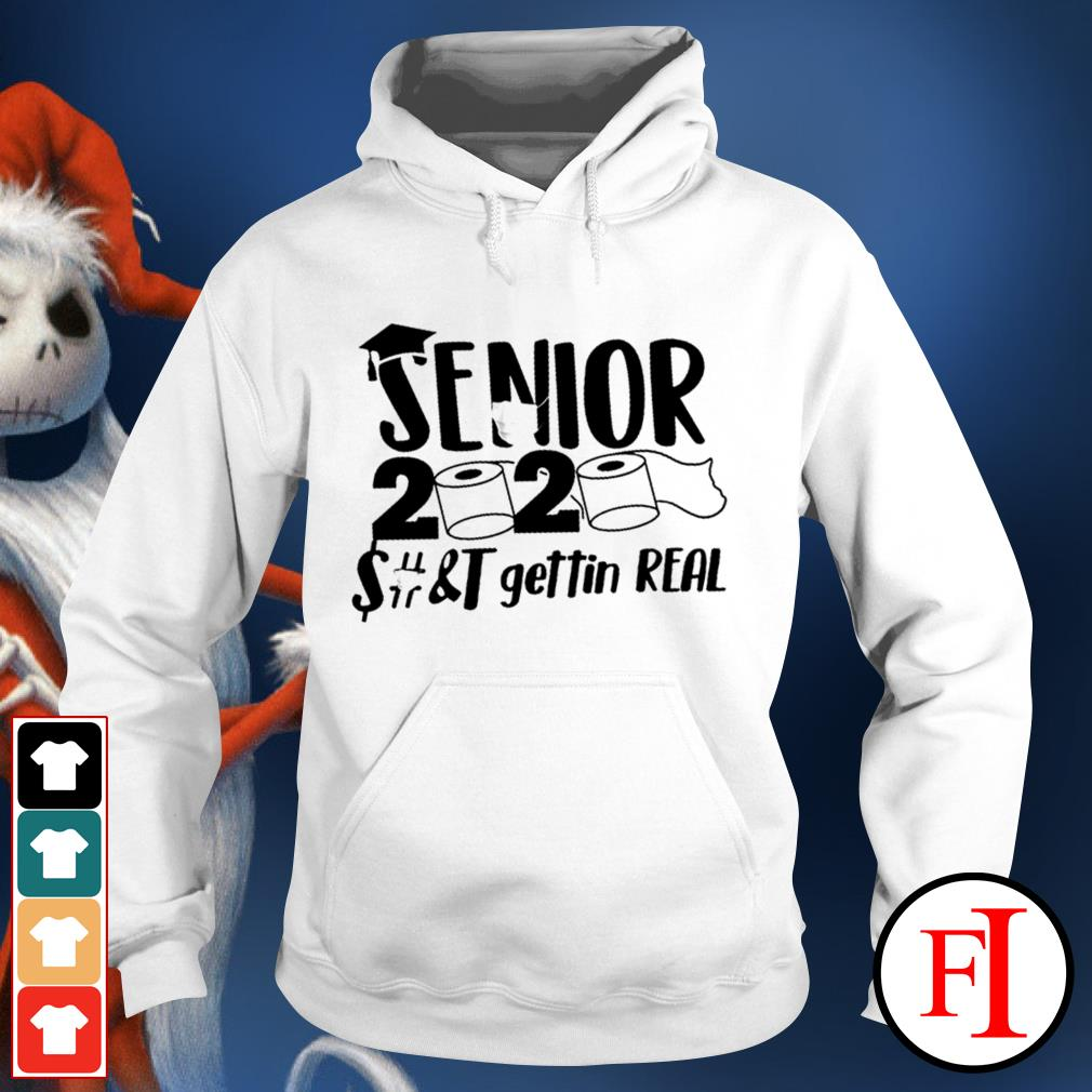 Official Senior 2020 toilet paper class of 2020 IF Hoodie
