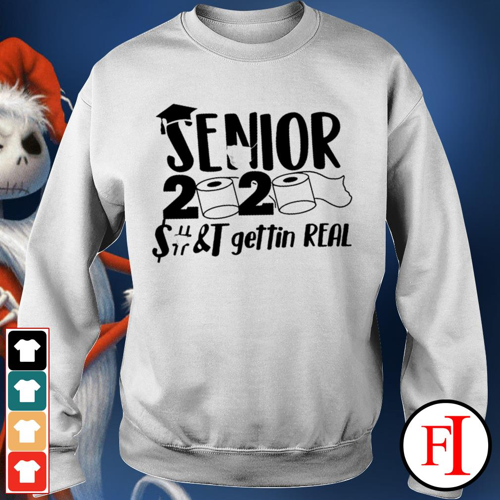 Official Senior 2020 toilet paper class of 2020 IF Sweater