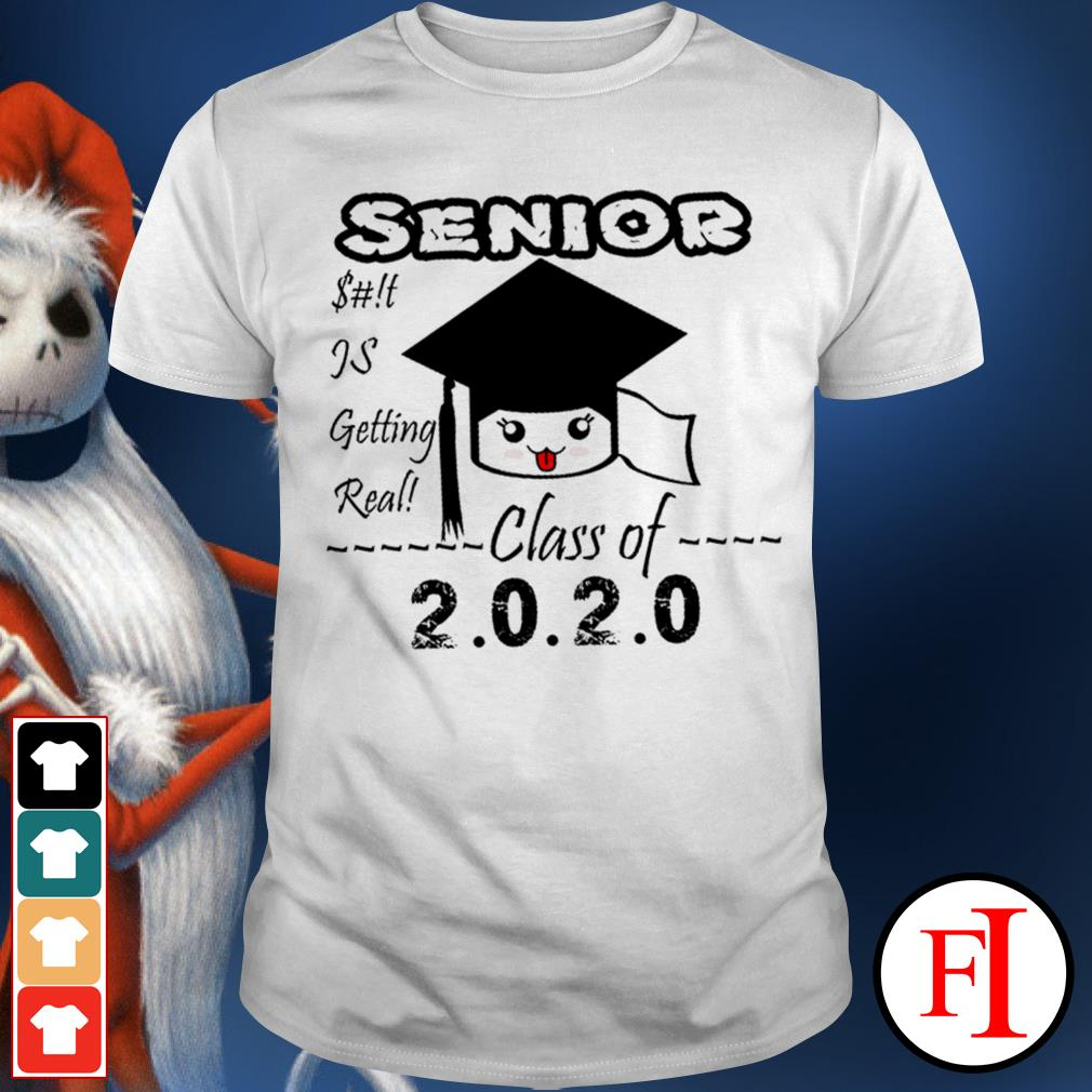 Senior class of 2020 toilet paper is getting real love IF shirt