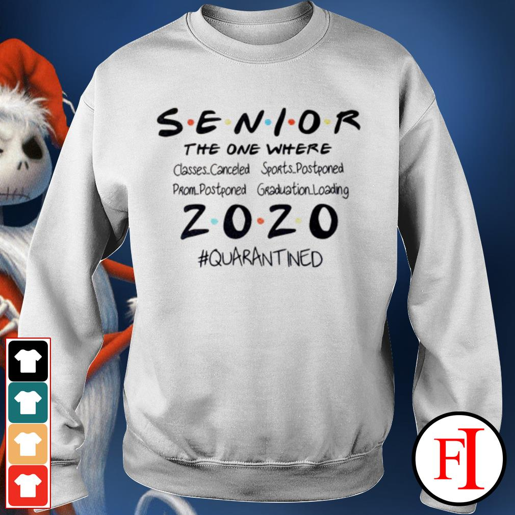 Seniors the one where they were 2020 quarantined IF Sweater