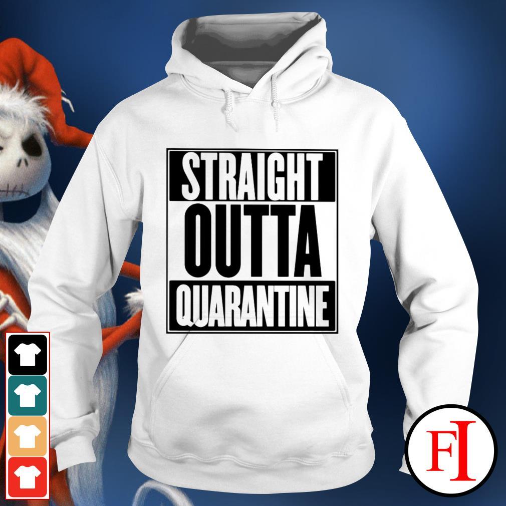 Straight outta quarantine love IF Hoodie