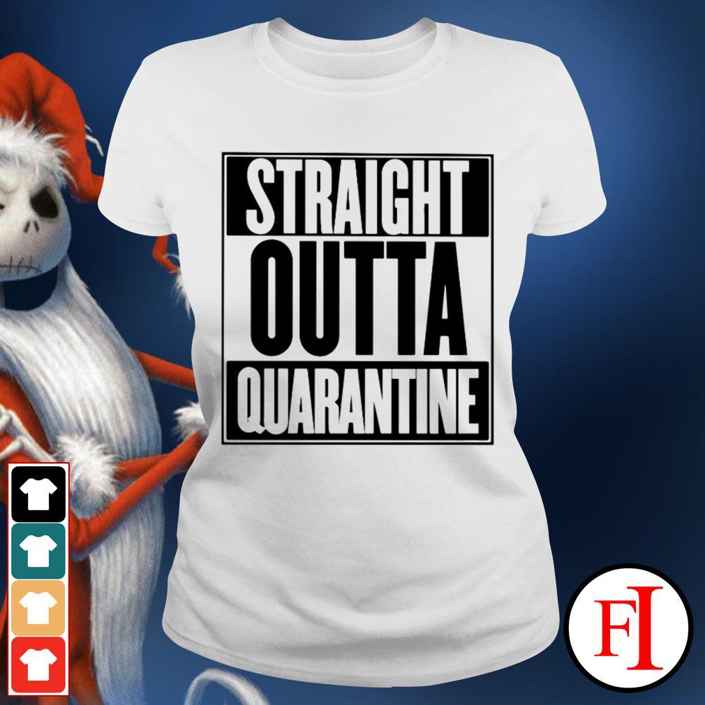 Straight outta quarantine love IF Ladies tee