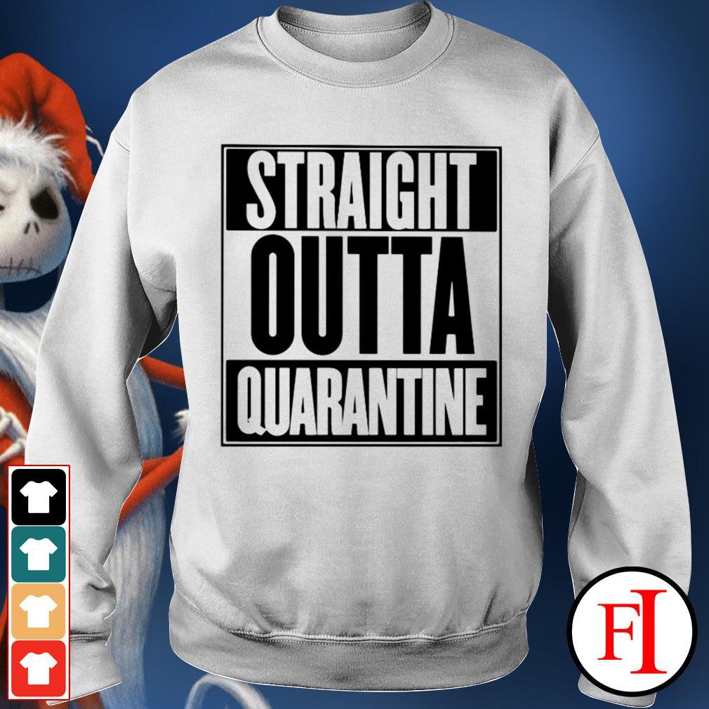 Straight outta quarantine love IF Sweater