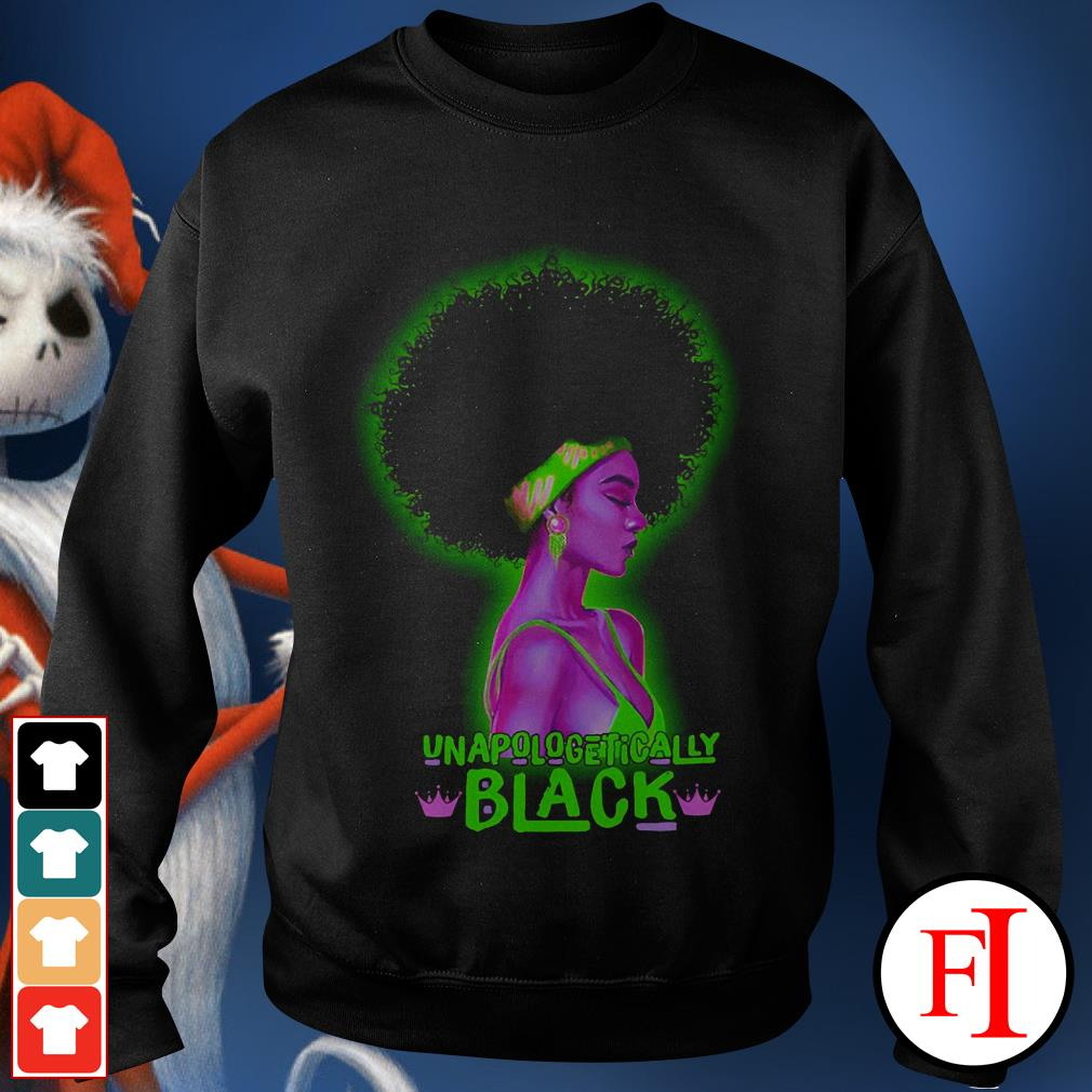 Unapologetically Black girl IF Sweater