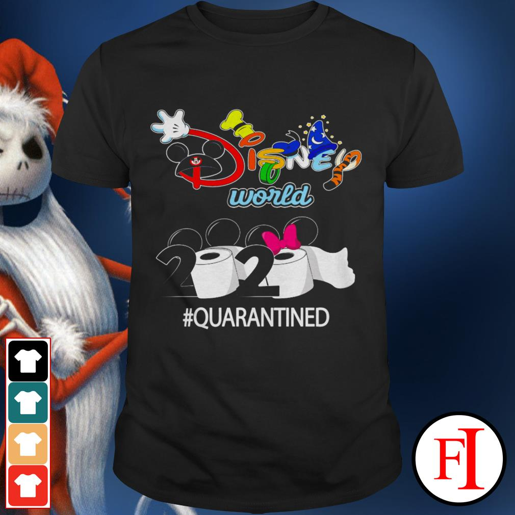 2020 #quarantined Disney world shirt