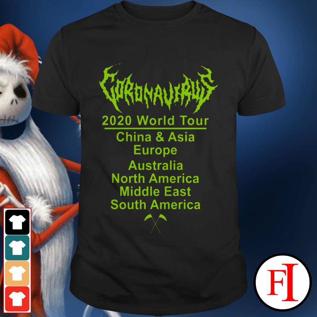 Corona 2020 World tour love IF shirt