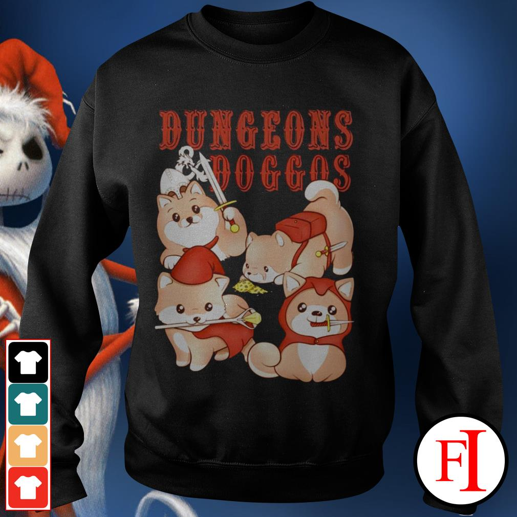 Love Dungeons and doggos best Sweater