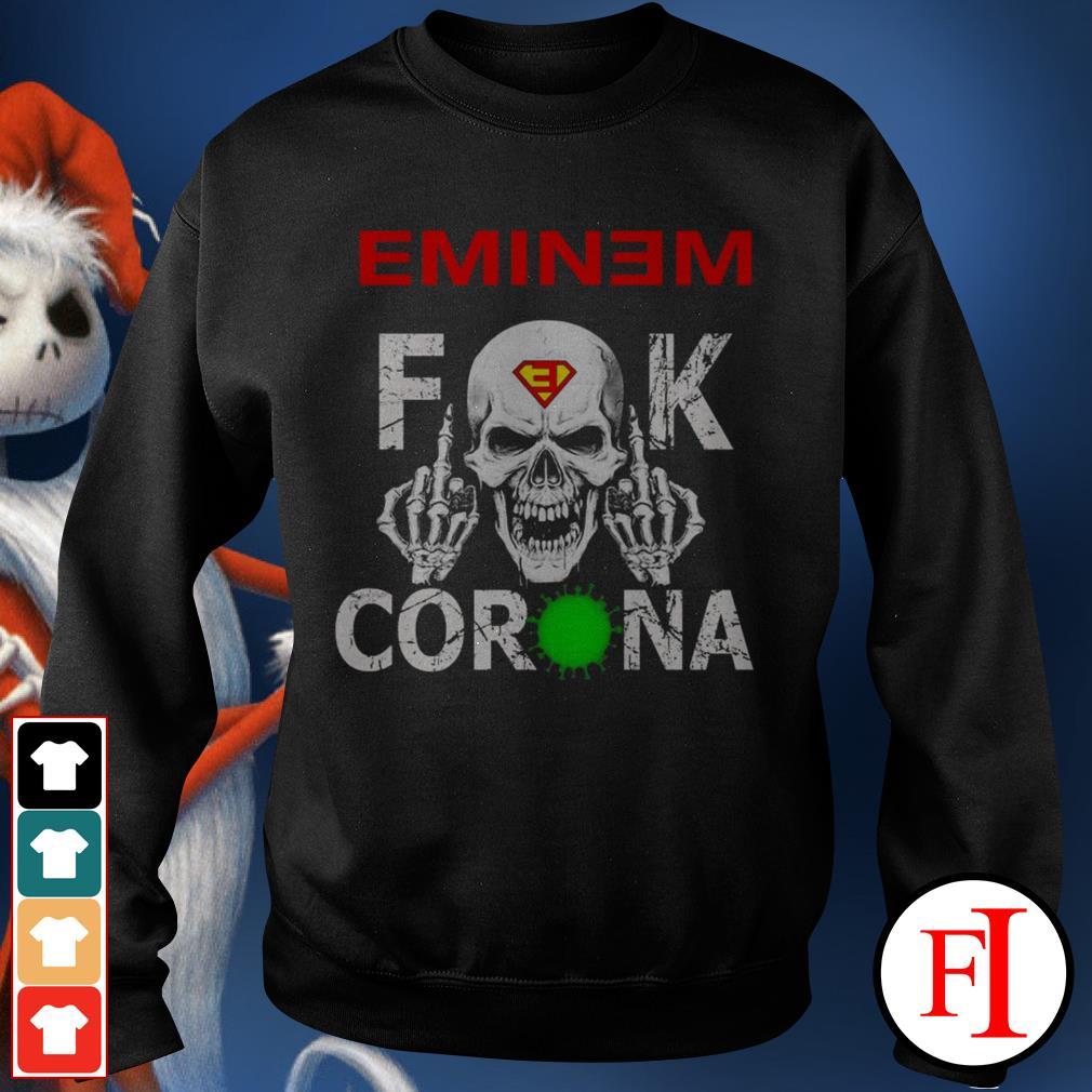 Official lEminem fuck Corona Sweater
