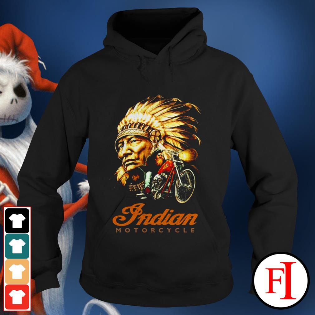 Official Native Indian motorcycle Hoodie