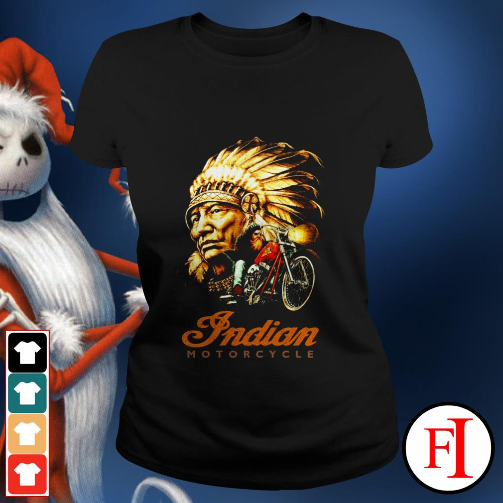 Official Native Indian motorcycle Ladies tee