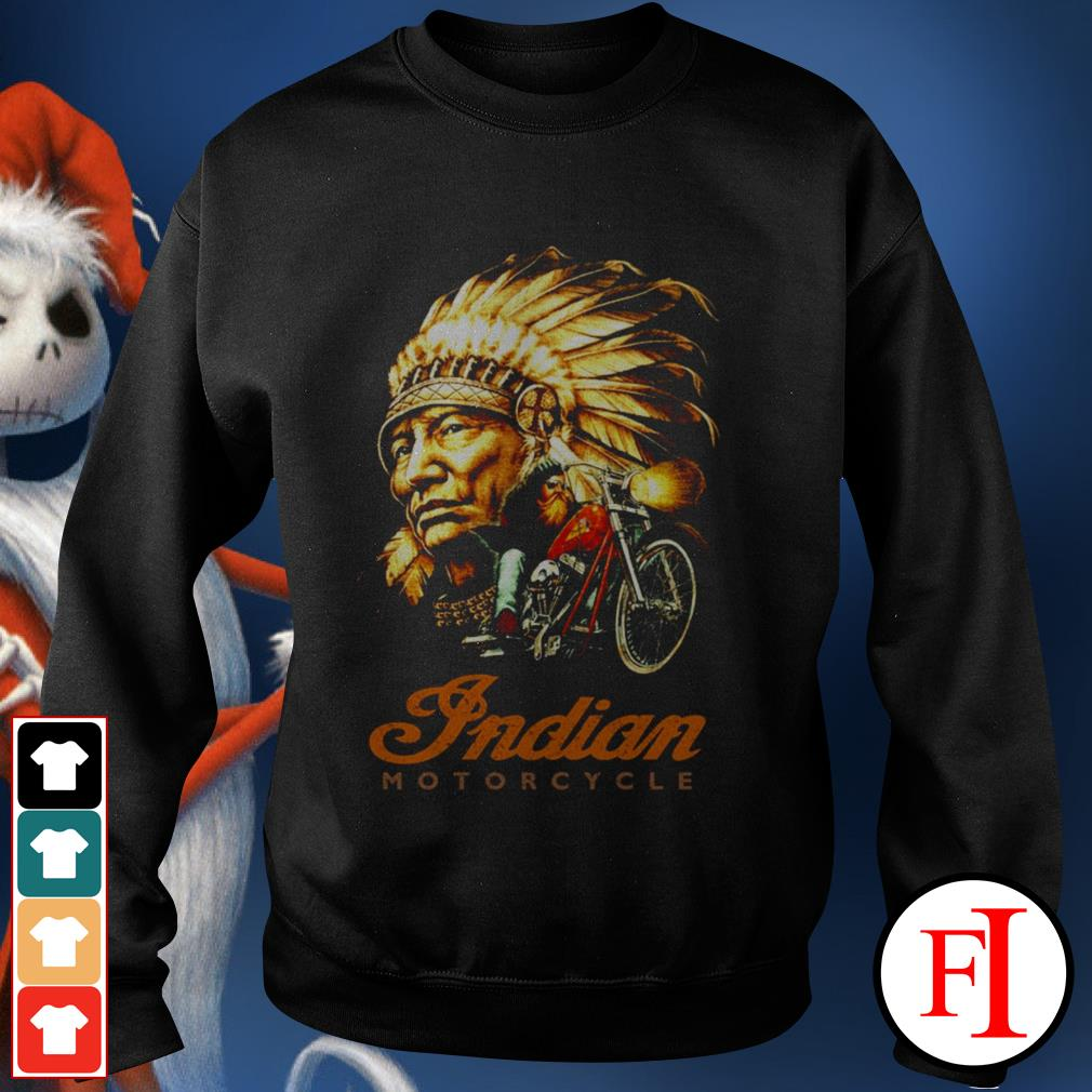 Official Native Indian motorcycle Sweater